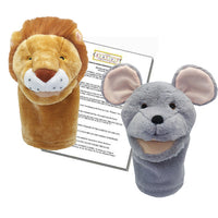 Aesop's Fables Lion and the Mouse Puppets and Puppet Show Script - The Creativity Institute