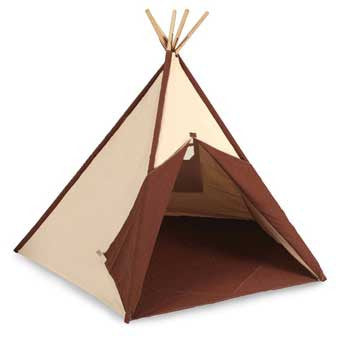 Pacific Play Tents 39614 Cotton Canvas Teepee (Tee Pee)