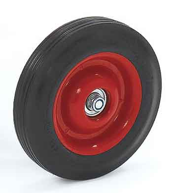 REPLACEMENT WHEEL - Angeles 8 in. Red Rear Wheel