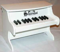 Schoenhut 25 Key My First Piano II Toy Piano - White - 2522W
