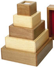 TAG Toys ES8 Wooden Stacking Tower