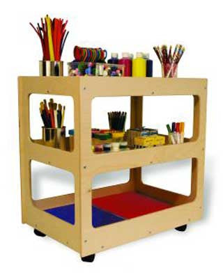 TAG Toys AC-10 Rolling Art Cart