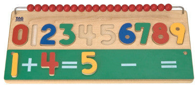 TAG Toys RE-30 Math Skills Number Puzzle