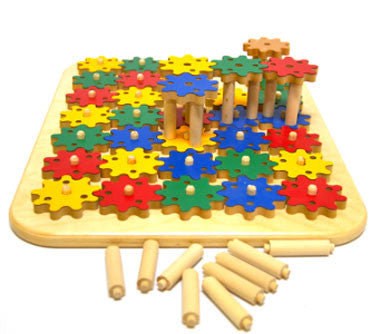 TAG Toys RE-40 Gears Puzzle