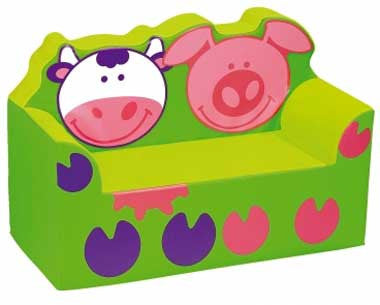 Wesco 34513 Pig and Cow Sofa