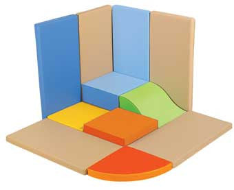 Wesco 38485 Tiny Tot Module Mat Corner Kit
