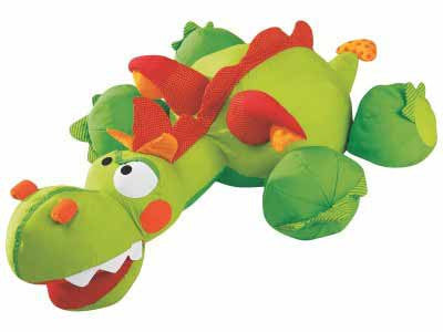 Wesco 46690 Giant Animal Cushion Nick the Dragon