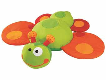 Wesco 46693 Zebulon the Butterfly-Caterpillar Giant Animal Cushion