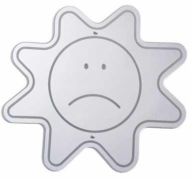 Whitney Brothers WB0036 Sad Face Mirror