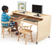 Whitney Brothers WB0483 Adjustable Computer Desk