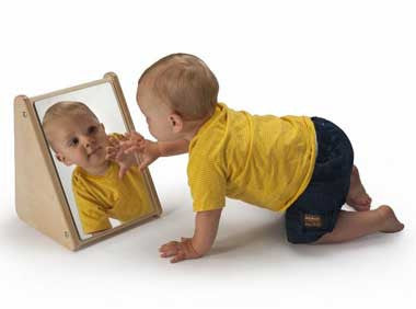 Whitney Brothers WB2112 Infant Mirror Stand - The Creativity Institute