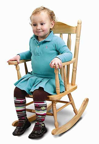 Whitney Brothers WB5533 Child's Rocking Chair - The Creativity Institute