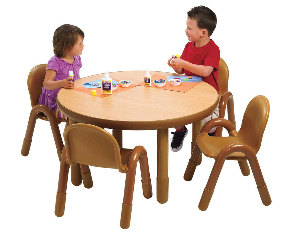 "BaseLine Preschool 36"" Dia. Round Table & Chair Set"