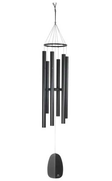 Woodstock Chimes WWOB Windsinger Chimes of Orpheus - Black