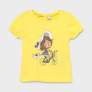 Camiseta Bebé Niña Ecofriends Mayoral