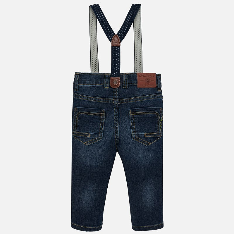 Jeans Bebe Niño Tirantes Fit Mayoral