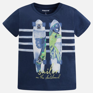 Camiseta niño Mayoral skate sailor