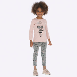 Leggings Niña Estampado Mayoral