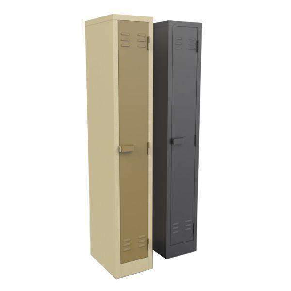 1 Compartment Single Door Steel Locker