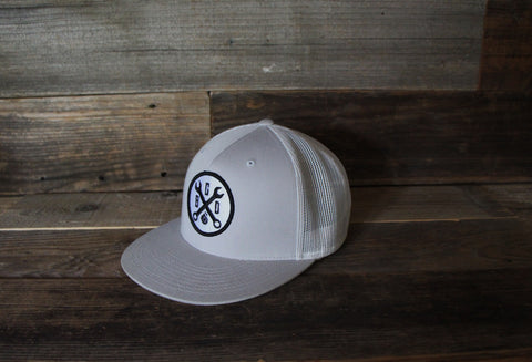 Wrench Patch Hat-Flat Bill SnapBack