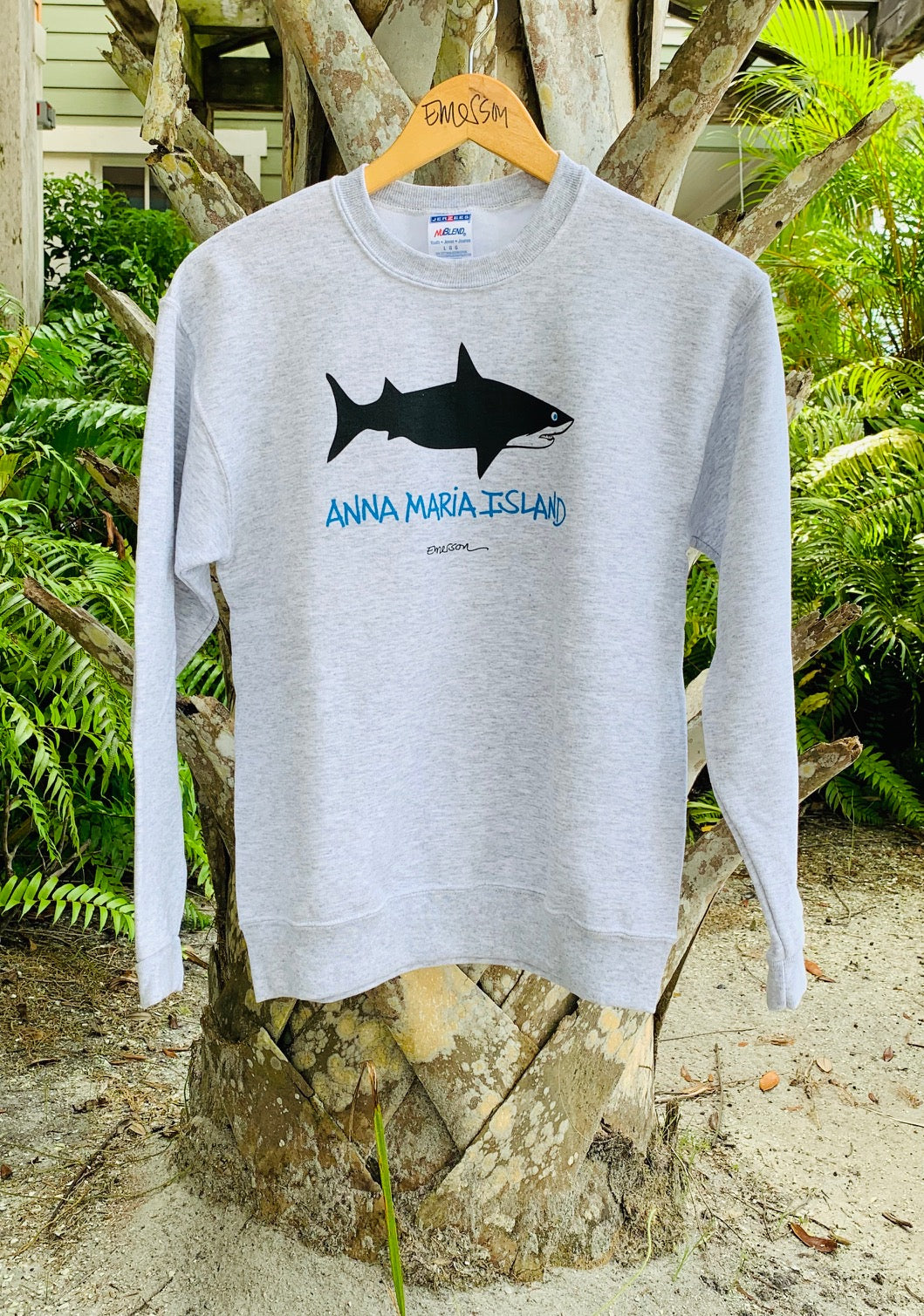 Anna Maria Island Shark Kids Sweat Shirt