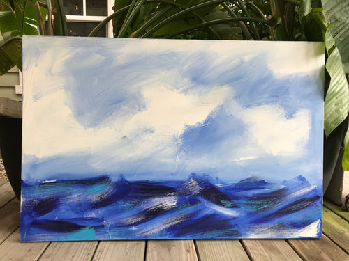Seas the Day Painting
