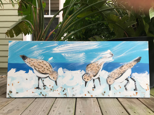 Sandpipers Painting