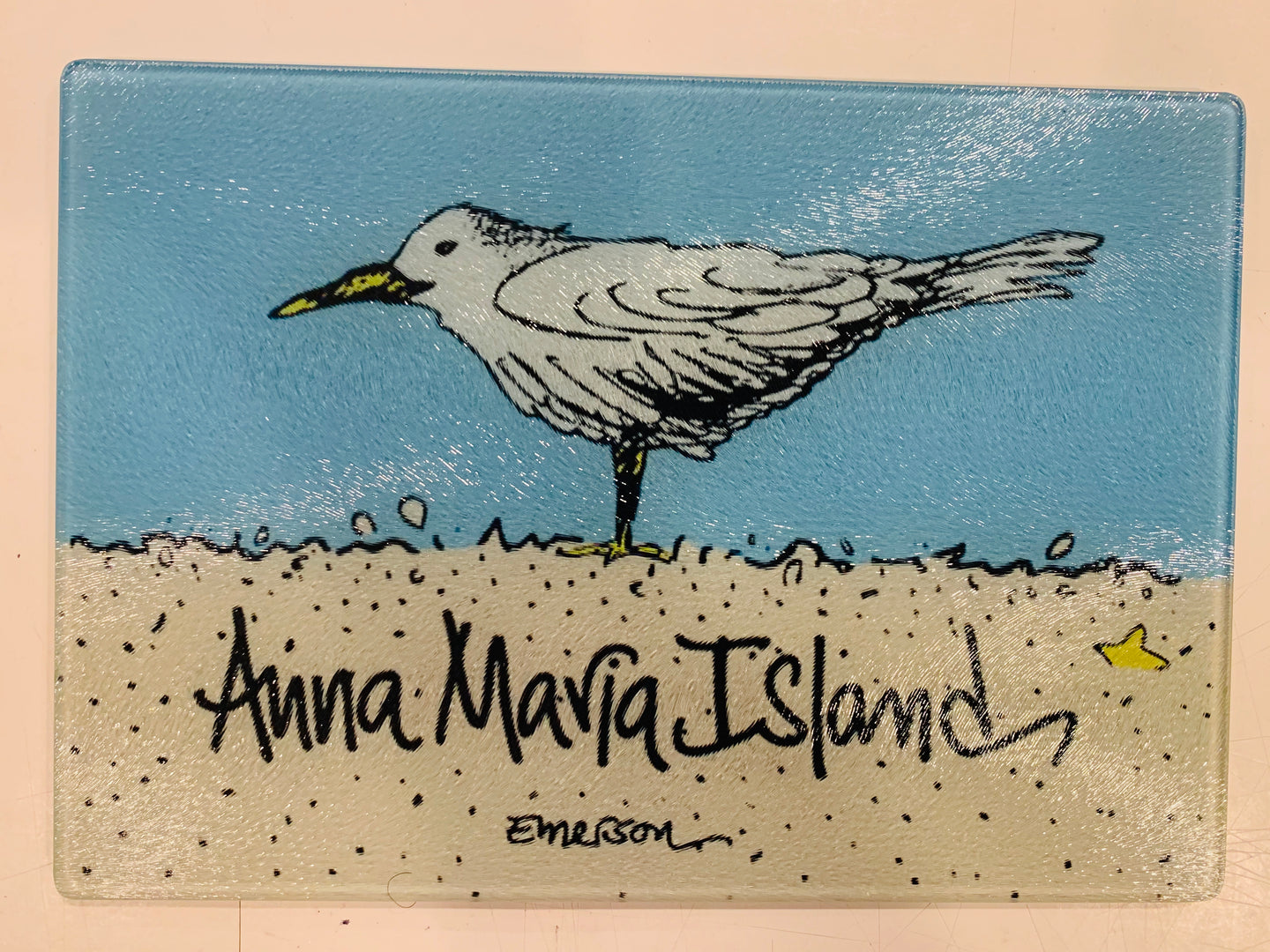 AMI Sea Gull Cutting Board/Hot Plate