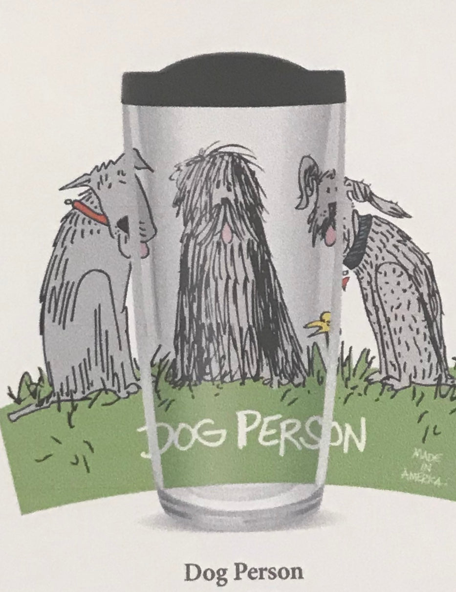 Dog Person Tumbler