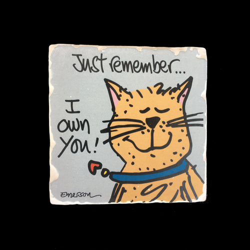 Just Remember...- Coaster
