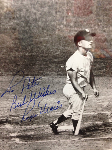 Roger Maris Autographed Framed 8x10 FT