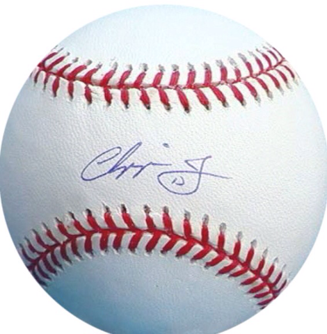 Chipper Jones Signed Baseball