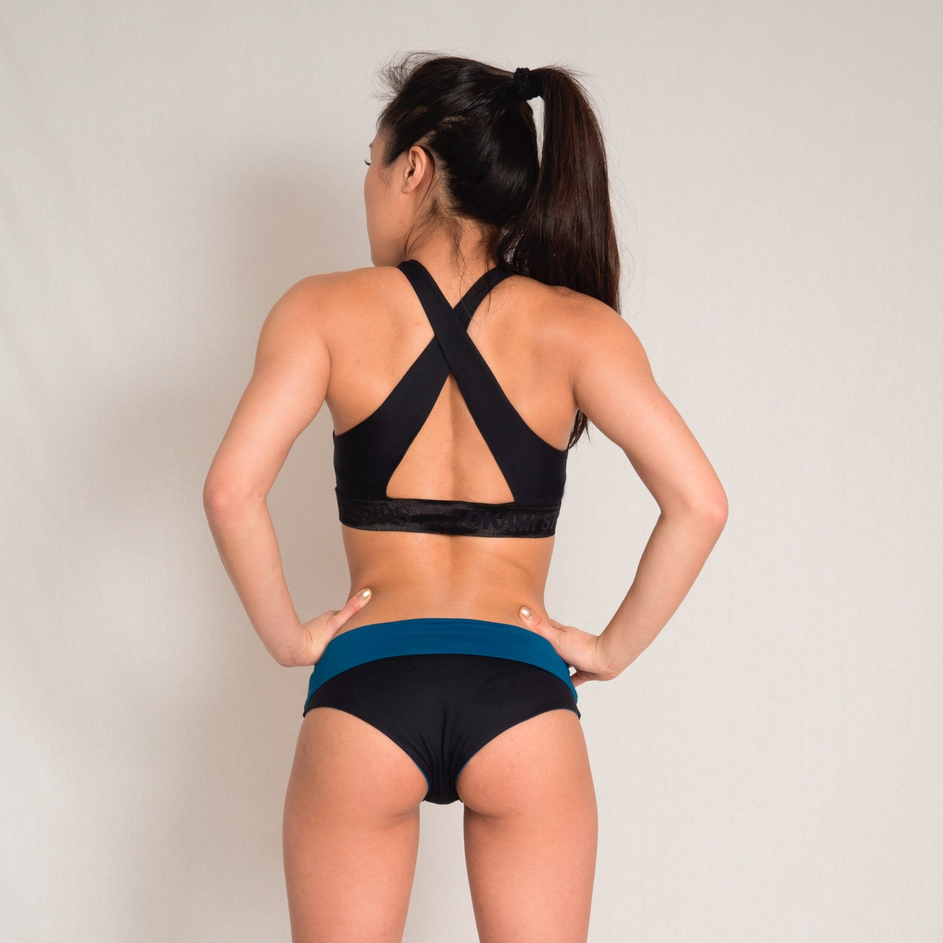 Low waist double-sided shorts fro aerial and pole dance