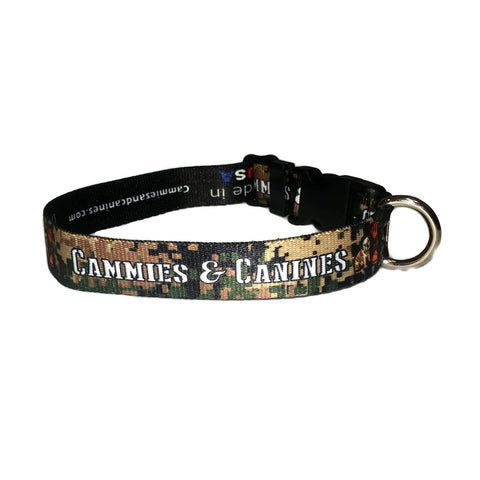 Green USMC Digital Collar