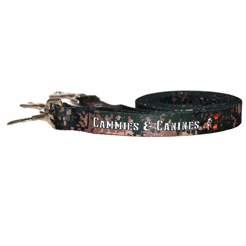 Green USMC Dog Leash