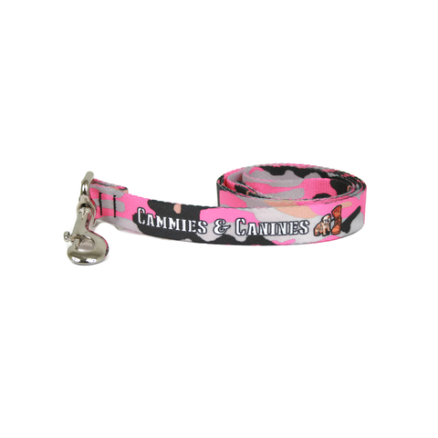 Pink Camo Dog Leash