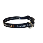 Black POW Dog Collar