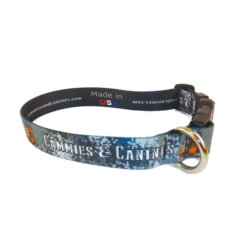 Blue Navy Dog Collar