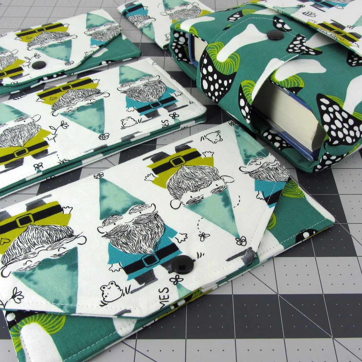 """Gnomes in Green"" from Cotton + Steel"