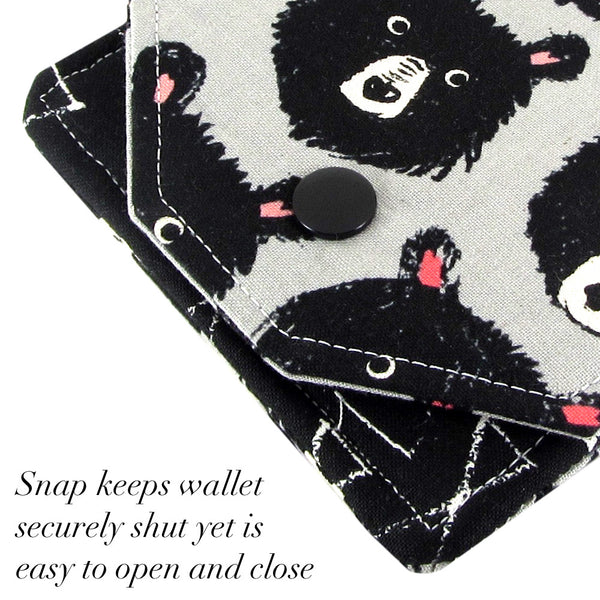 cute fabric wallet