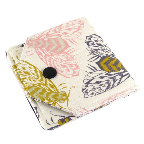 bee fabric women's earbud case