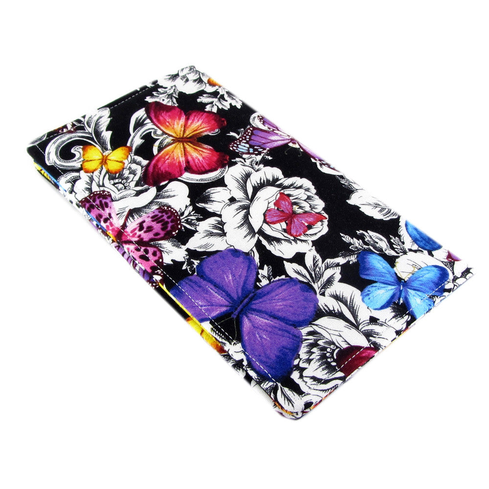 Handmade Butterfly Fabric Women s Checkbook Cover – Five Sprouts 439460384