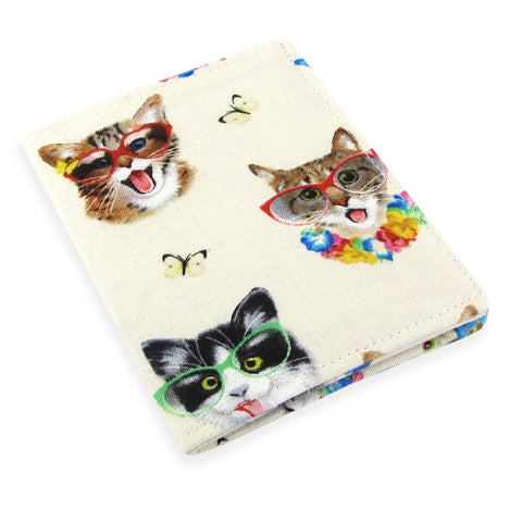 Handmade Cat Selfie Slim Women's Credit Card Wallet