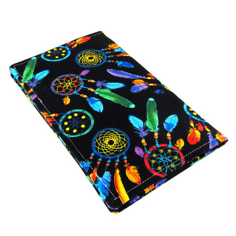 Handmade Dreamcatcher Fabric Women's Checkbook Cover