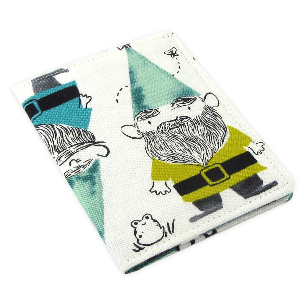 Handmade Gnome Mushroom Slim Women's Credit Card Wallet