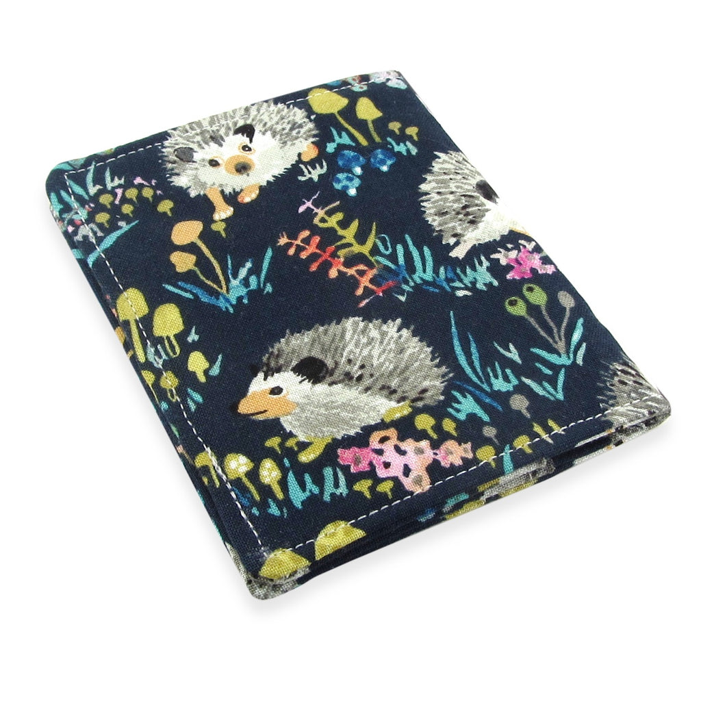 Handmade Hedgehog Slim Women's Credit Card Wallet