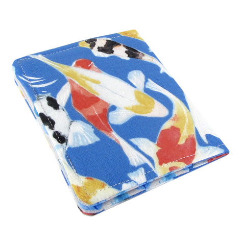 Five Sprouts Stitching Koi Slim women's credit card wallet