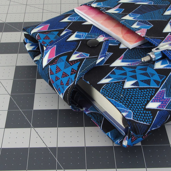 Handmade Mountain Fabric Book Sleeve