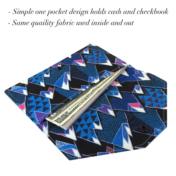 Handmade Mountain Fabric Women's Cash Envelope Wallet