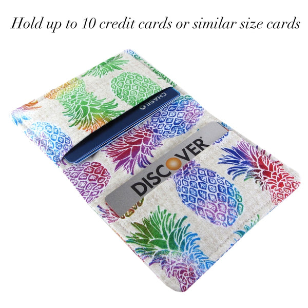 pineapple small women's wallet